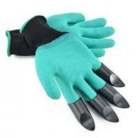 Садовые перчатки Garden Genie Gloves с когтями оптом. Обзор товара.