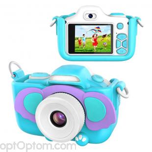 Детский фотоаппарат Kids cam слонёнок оптом