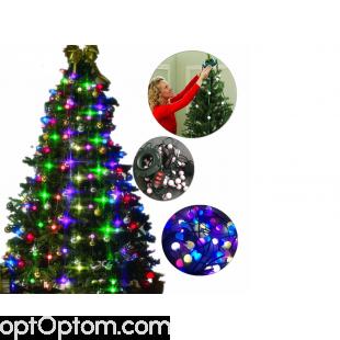 Гирлянда на новогоднюю елку TREE DAZZLER 48 ламп оптом