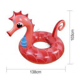 Надувной круг Морской конек 150х120см оптом
