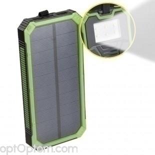 Внешний аккумулятор Power bank Solar Charger 20000 mAh на солнечных батареях оптом