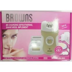 Электрический эпилятор BROWNS BS-903 оптом