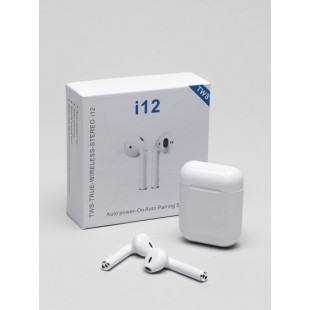 Беспроводные наушники i12 TWS оптом