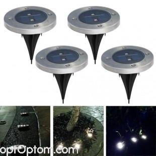 Фонарь для газона на солнечной батарее Solar Pathway Lights оптом