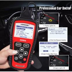 Автомобильный диагностический сканер KONNWEI KW808 оптом