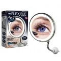Настенное зеркало с 10ти кратным увеличением и подсветкой на присоске Ultra flexible mirror оптом