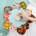 Вращающаяся коробка для хранения сладостей оптом