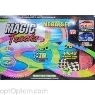 Magic Tracks 446 деталей с мостом, перекрестком и чертовым колесом оптом