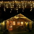 Новогодняя светодиодная гирлянда Бахрома 12 м оптом