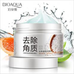 Очищающий пилинг гель с рисовым экстрактом bioaqua brightening exfoliating gel оптом