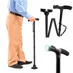 Складная трость с фонариком Trusty Саnе оптом