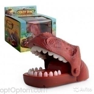 Детская настольная игрушка crazy dino оптом