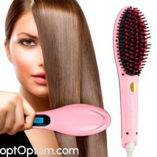 Расческа-выпрямитель (Fast Hair Straightener HQT 906)