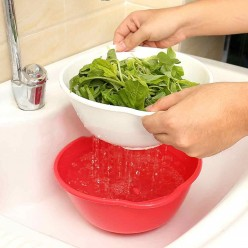 Миска-дуршлаг Mesh strainer drain basket оптом