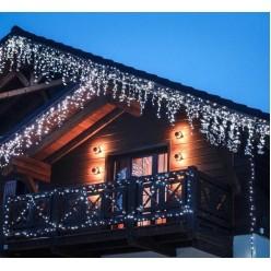 Новогодняя светодиодная гирлянда Бахрома 25 м оптом