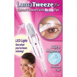 Пинцет для бровей с подсветкой Luma Tweeze оптом