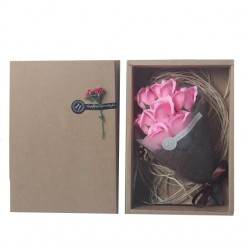 Подарочный набор букет роз из мыла оптом