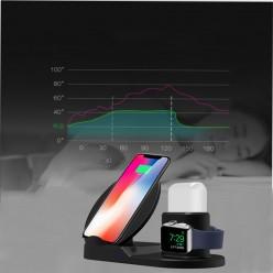 Беспроводное зарядное устройство Qi 3 в 1 оптом