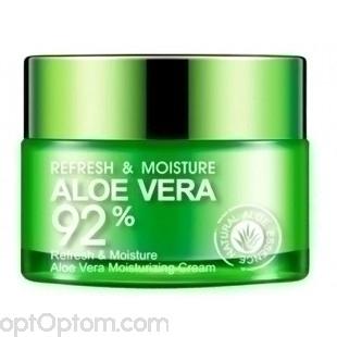 Крем для лица BioAqua Aloe Vera Refresh Moisture Cream оптом