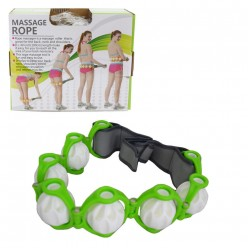 Роликовый ручной массажер massage rope hx-8866 оптом