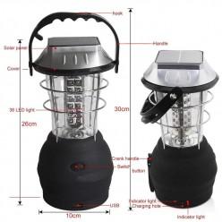 Кемпинговый фонарь на солнечных батареях оптом