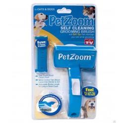 Щетка для вычесывания животных Pet Zoom оптом