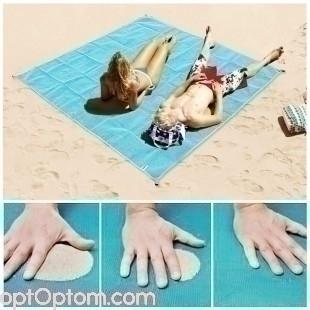 Пляжный коврик покрывало Антипесок оптом