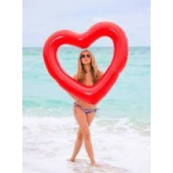 Надувной круг для плавания сердце оптом