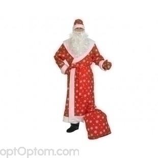 Профессиональный костюм Деда Мороза оптом