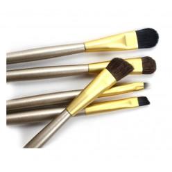 Набор кистей для макияжа в тубусе 5 шт. оптом