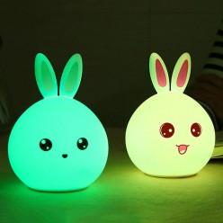 Настольный usb светильник ночник зайчик оптом