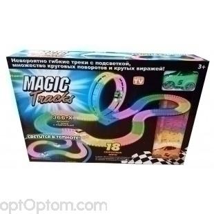 Magic Tracks 366 деталей с Мертвой петлей оптом