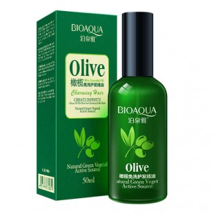 BIOAQUA hair oil with olive extract