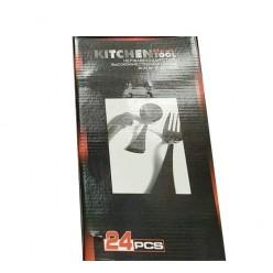Набор столовых приборов Kitchen Best Tool 24 предмета оптом
