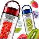Бутылка со съемным отделом для фруктов BPA Fruit Juice (Tritan Plastic)