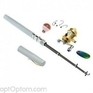 Карманная удочка в виде ручки Fishing Rod in Pen Case оптом