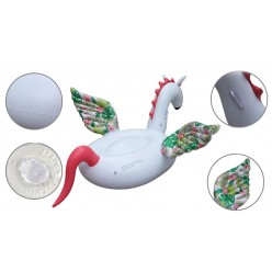 Большой надувной Единорог с крыльями оптом