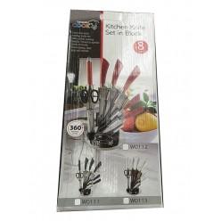 Набор ножей на подставке 8 предметов оптом