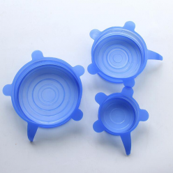 Силиконовые крышки в комплекте 6 шт Super stretch silicon lids оптом