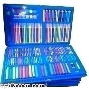 Детский набор для рисования 188 предметов оптом