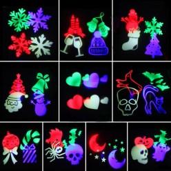 Лазерный проектор led новогодний оптом