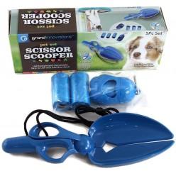 Ножницы совок для уборки собачьих экскрементов Scissor scooper оптом