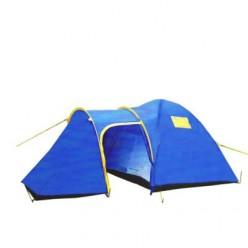 Палатка 6-местная 2-х комнатная с тамбуром и навесом 1636 оптом