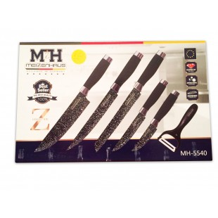 Набор из 6 ножей Meizenhaus MH-5540 оптом