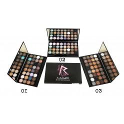 Тени Kiki M.A.C 32 color eyebrow powder (Кики Мак 32 оттенка) оптом
