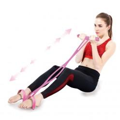 Эспандер для фитнеса с ручками и петлями для ног оптом