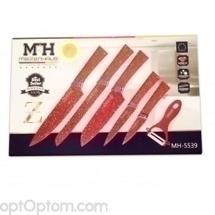Набор из 6 ножей Meizenhaus MH-5539 оптом