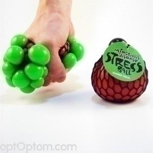 Вирусный стресс-болл (антистрессовая игрушка) infectious diseases stress ball оптом