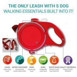 Многофункциональный поводок для собак 5 Pet essentials all-in-one оптом