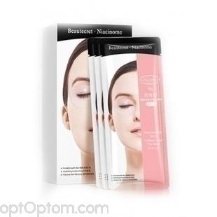 Гидрогелевые патчи для глаз Cahnsai Nicotinamide With Collagen And Eye Mask оптом